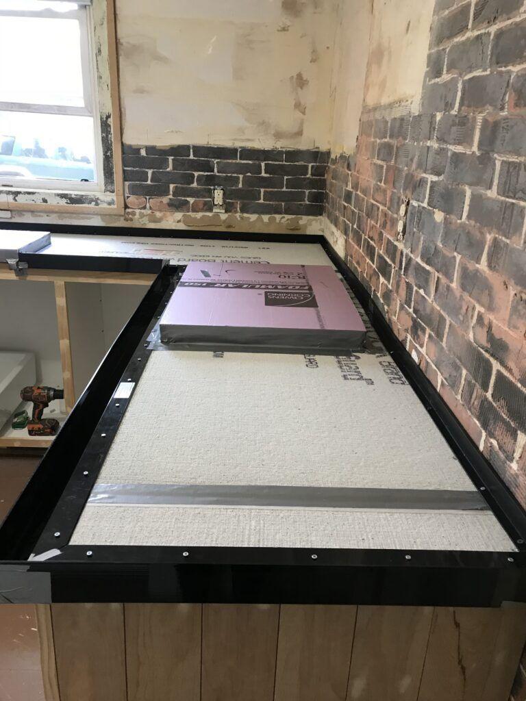 Diy White Concrete Countertops In 2020 White Concrete