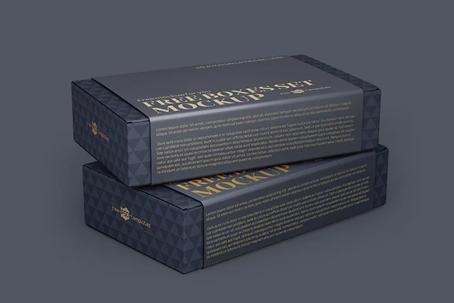 Download Free Boxes Set Mockup Templates In Psd Box Mockup Psd Template Free Mockup Templates