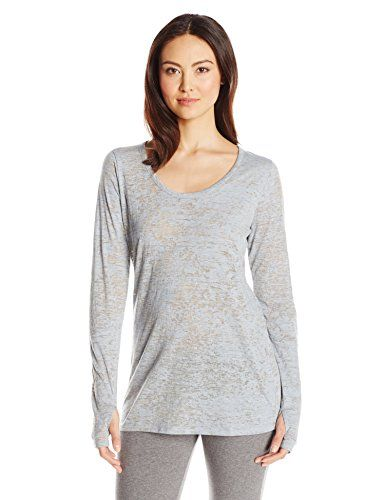 Yummie by Heather Thomson Women's Jersey Burnout Long Sleeve Tee - http://darrenblogs.com/2016/03/yummie-by-heather-thomson-womens-jersey-burnout-long-sleeve-tee/
