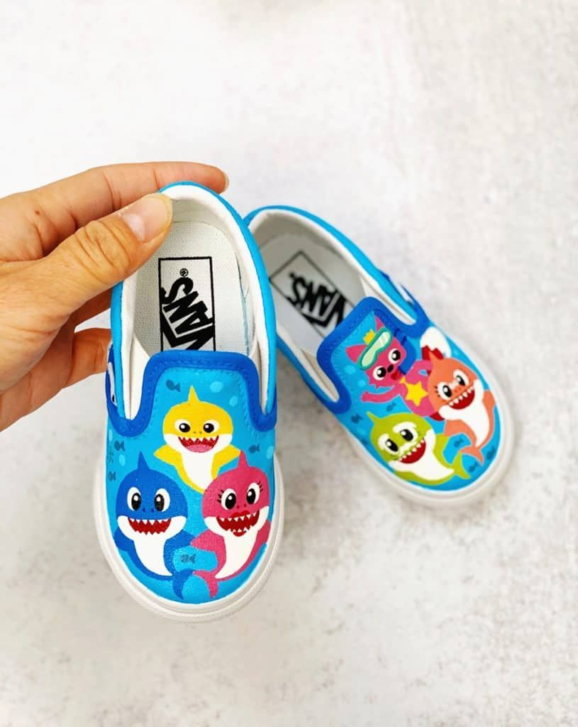 These are the cutest Baby Shark shoes