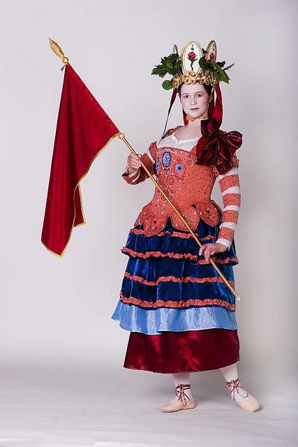 Masque by Ekaterina Mikhaylova-Smolnyakova, via Flickr