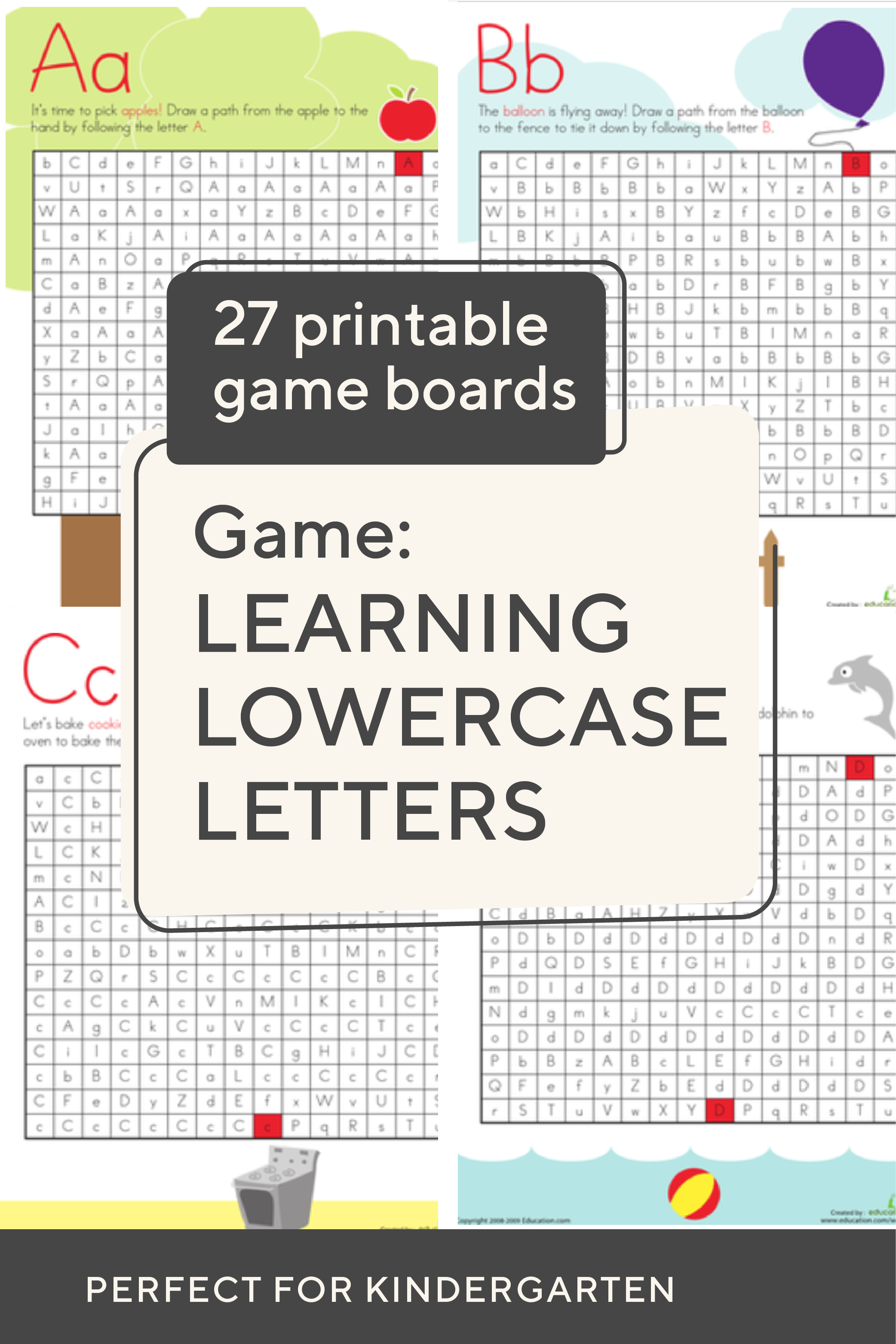 Try These Free Printable Letter Mazes To Help Your Little