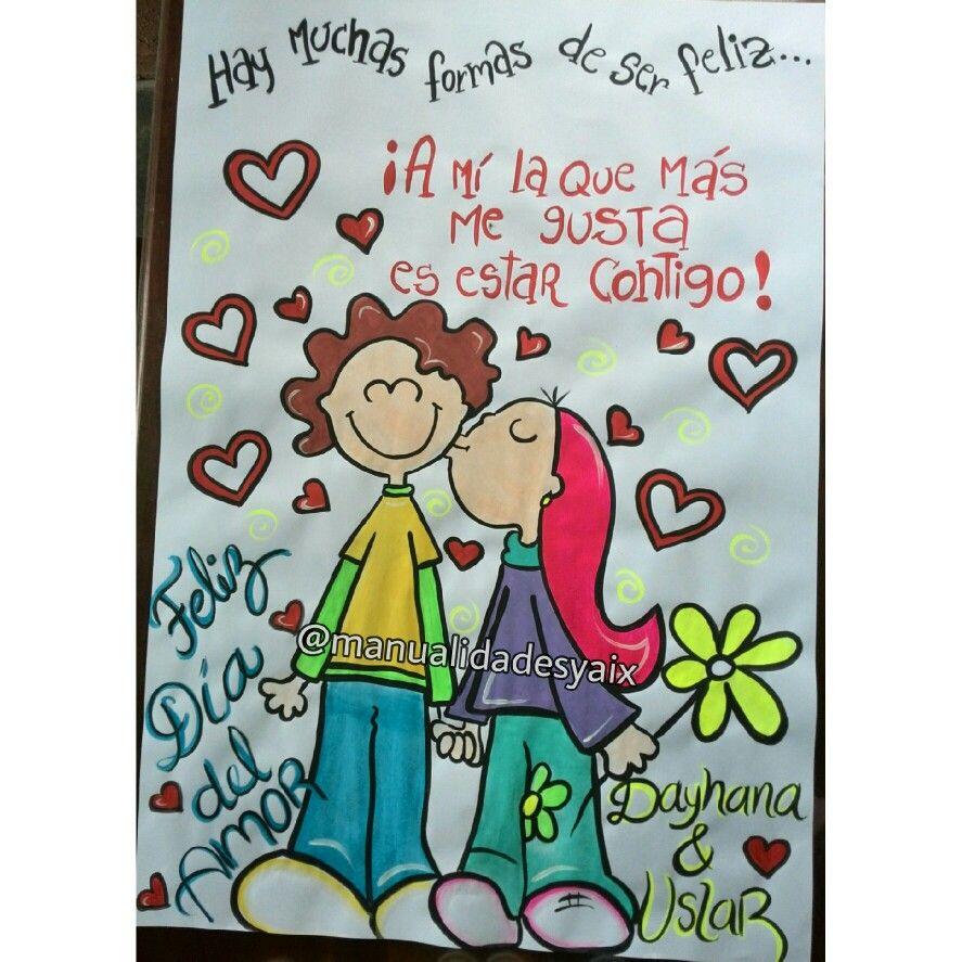 Pancarta colorida de amor