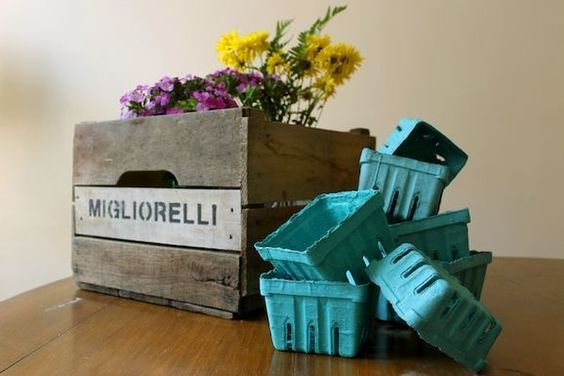 8 Ways to Reuse Cartons, Crates, and Baskets from the Market on Food52