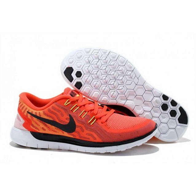 Mens Nike Free 5.0 V2 Red Black