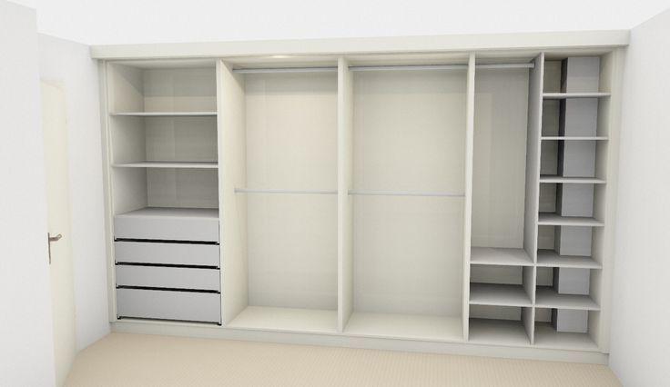 Afbeeldingsresultaat voor indeling kledingkast for Inrichting huis ontwerpen