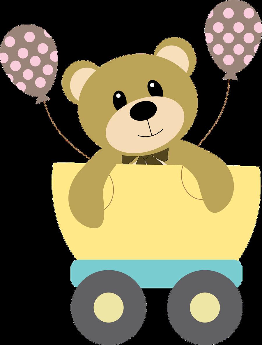 Bebe Ursinho Png ~ Beb u00ea (Menino e Menina) 3 RIbirthdaybear03 png Minus Outras Pinterest Beb u00eas meninos e Beb u00eas