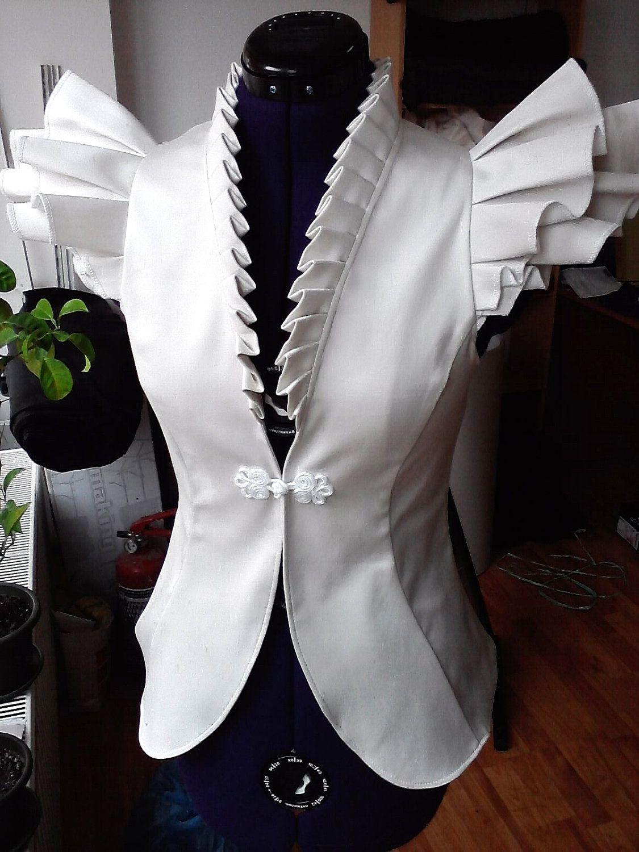 celia summer version jacket by lauragalic on Etsy, $99.90