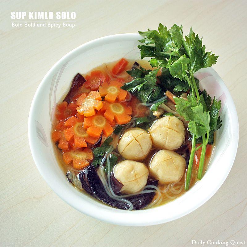 Sup Kimlo Solo Solo Style Kimlo Soup Recipe Indonesian Food Cuisine Recipes Indonesian Cuisine
