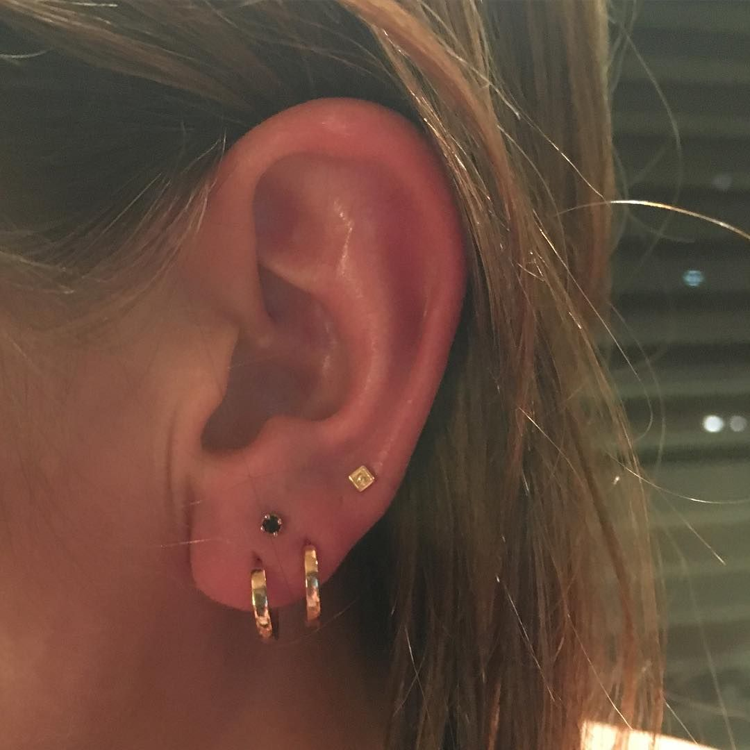 Nose piercing trends 2018  These Constellation Piercings Will Make You See Stars  more