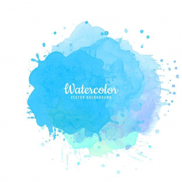 Download Abstract Blue Watercolor Splash Background For Free Watercolor Splash Blue Watercolor Watercolor Art Journal