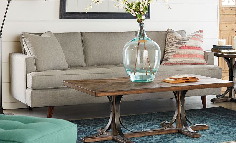 Magnolia Home Mcm Sofa By Joanna Gaines The Mid Century Modern Style
