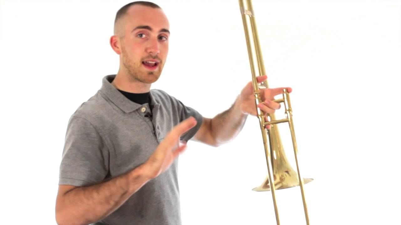 Trombone Lesson 1 Assembly Disassembly How To Hold Trombone Lessons Trombone Lesson