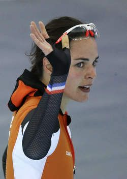 Dutch skater, Marrit Leenstra ~ Gold Medal at 2014 Sochi Olympics (Team Pursuit)