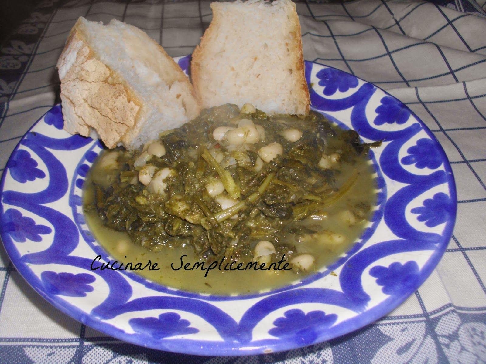 Cucinare semplicemente minestra di broccolo nero con i for Cucinare vegano