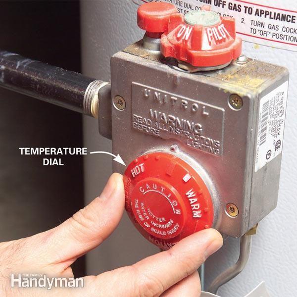 How To Adjust Water Heater Temperature Water Heater Maintenance