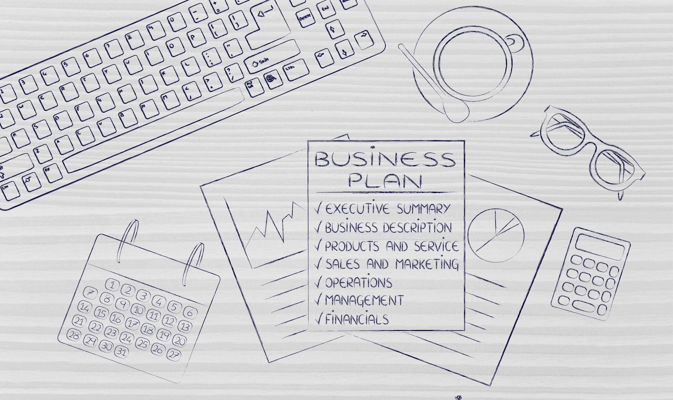 An event business plan helps you focus on the goals of the
