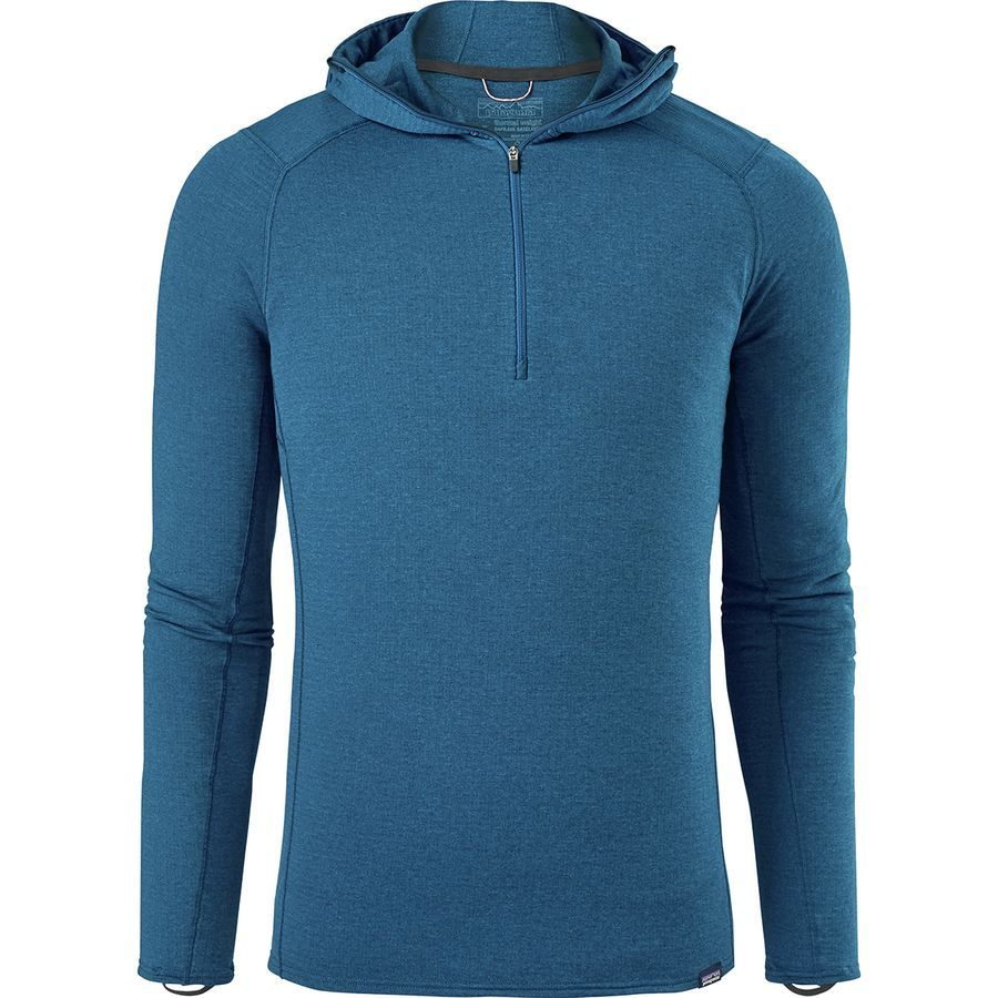a15d380e9 Patagonia Capilene Thermal Weight Hooded Zip-Neck Top - Men's ...