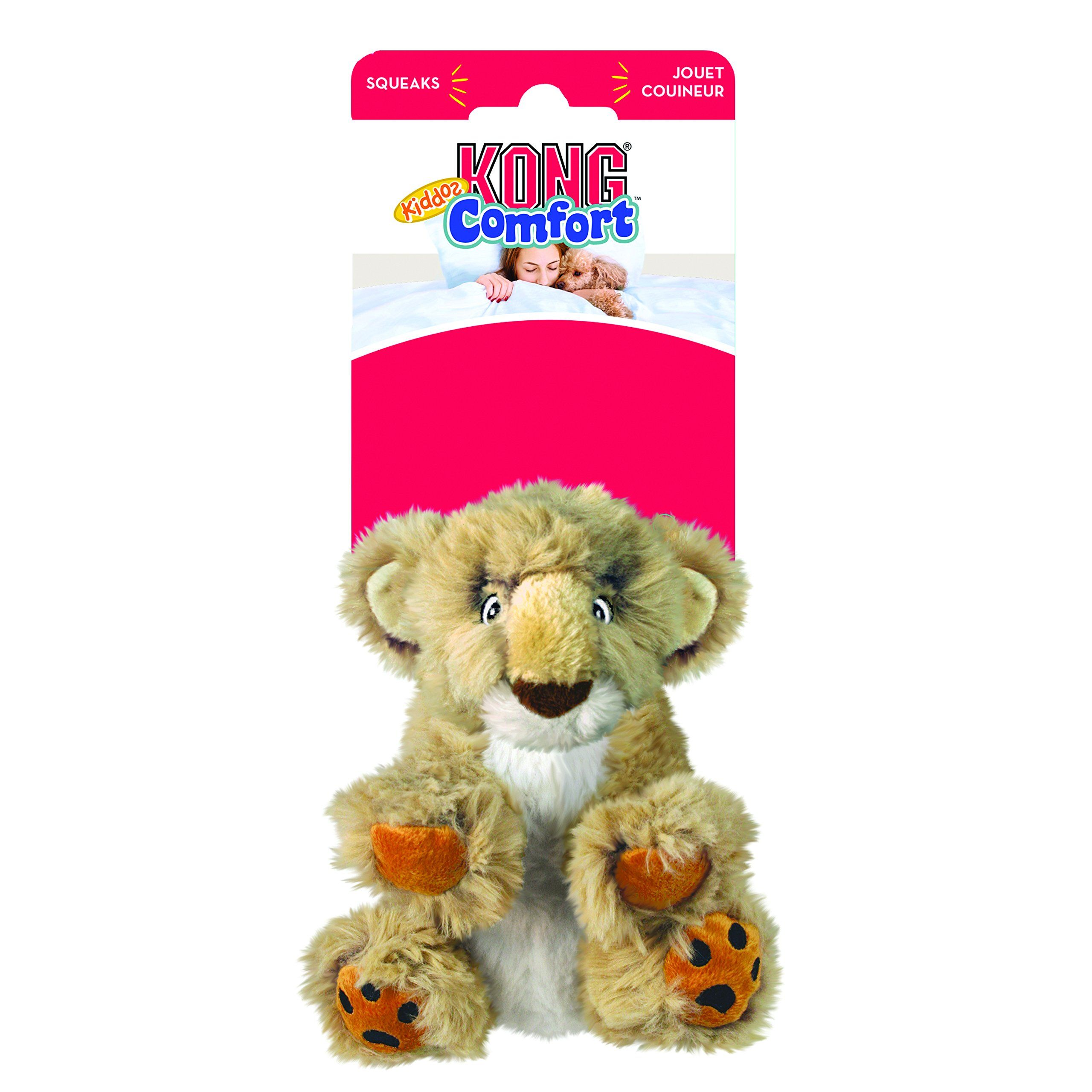 Kong Comfort Kiddos Lion Dog Toy Large Have A Look At This