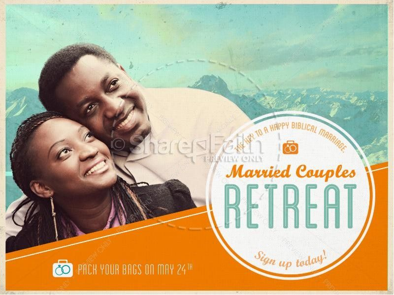 Marriage Retreat Powerpoint Slide 1 Church Graphics Marriage Retreats Couples Retreats
