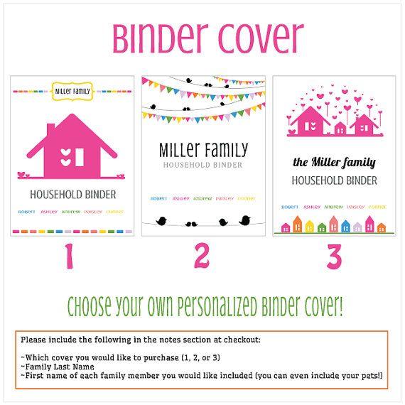 Household Management Binder, Binder