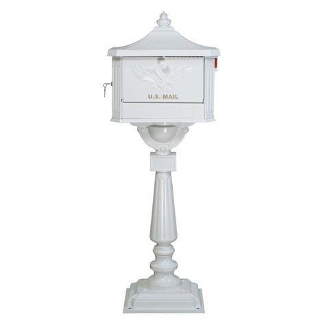 Gibraltar Cast Aluminum Pedestal Mailbox 219 99
