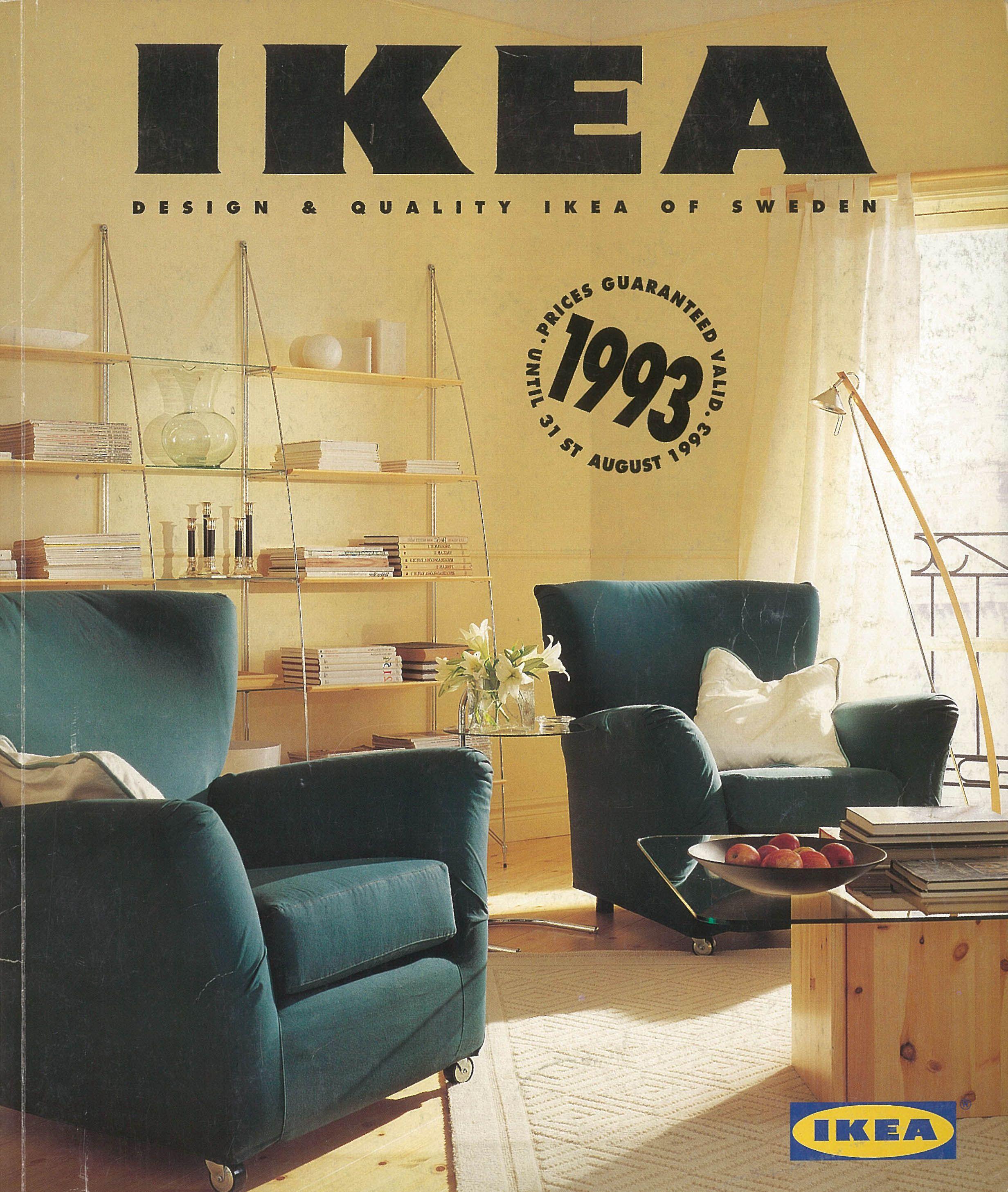 The 1993 Ikea Catalogue Cover Ikea Moodboard In 2019 Ikea Ikea