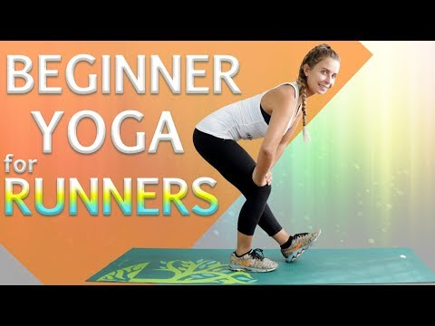 3 10 🏃🏼 beginner yoga for runners poses  youtube  yoga