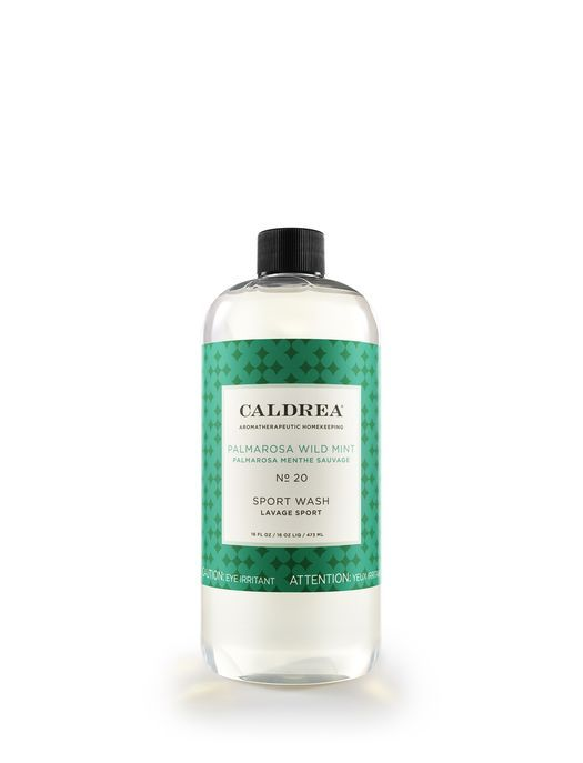 Palmarosa Wild Mint Sport Wash Caldrea Voted Best Laundry Detergent For Sweaty Clothing Scented Hand Lotion