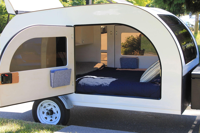 Homemade Camper Trailer Tiny Houses 1 Camperism Homemade