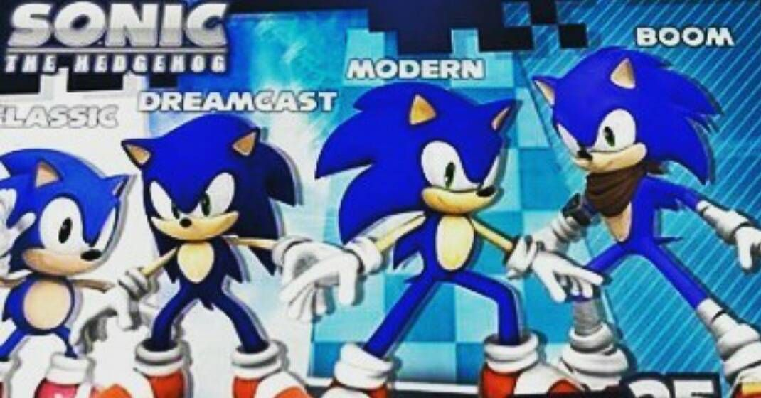 Shared by sonicworld_7k #dreamcast #microhobbit (o) http://ift.tt/1Ylsml2 version of Sonic the Hedgehog do you like better. I can't decide between modern and dreamcast. #sonic #sonicthehedgehog #like4like #follow4follow #classic #modern  #boom