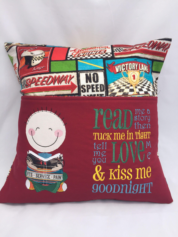 pillow reading pillow book pocket boys reading pocket pillow