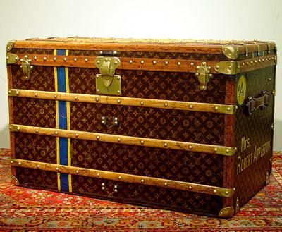 The Steamer Trunk | Louis vuitton, Antique stores and Vintage