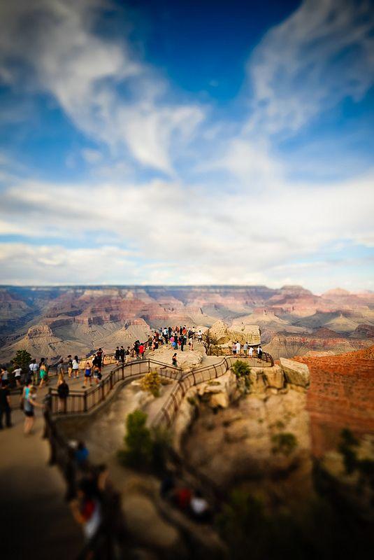 grand canyon tilt-shift