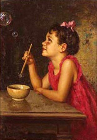 Luigi Amato (1898 – 1961, Italian) - Bolle di sapone