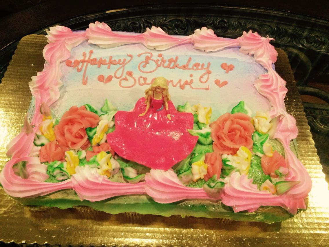 Barbie Cupcake Cake Beautiful Job Done By My Local Shoprite
