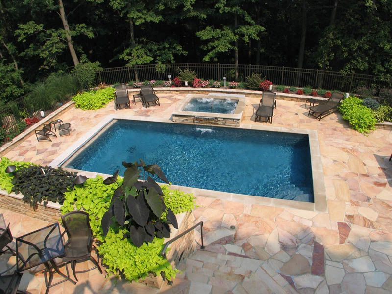 Traditional Pools - Mid American Gunite Pools | Backyard Ideas ...