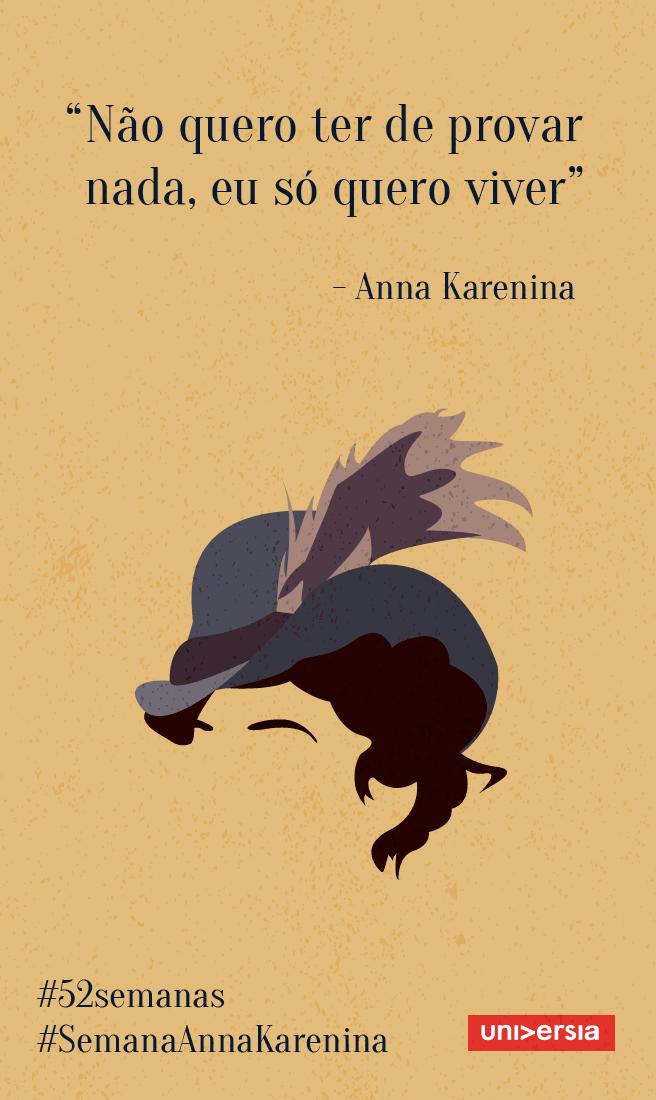 Inspire Se A Aprender Com Seus Erros Com Anna Karenina Frases