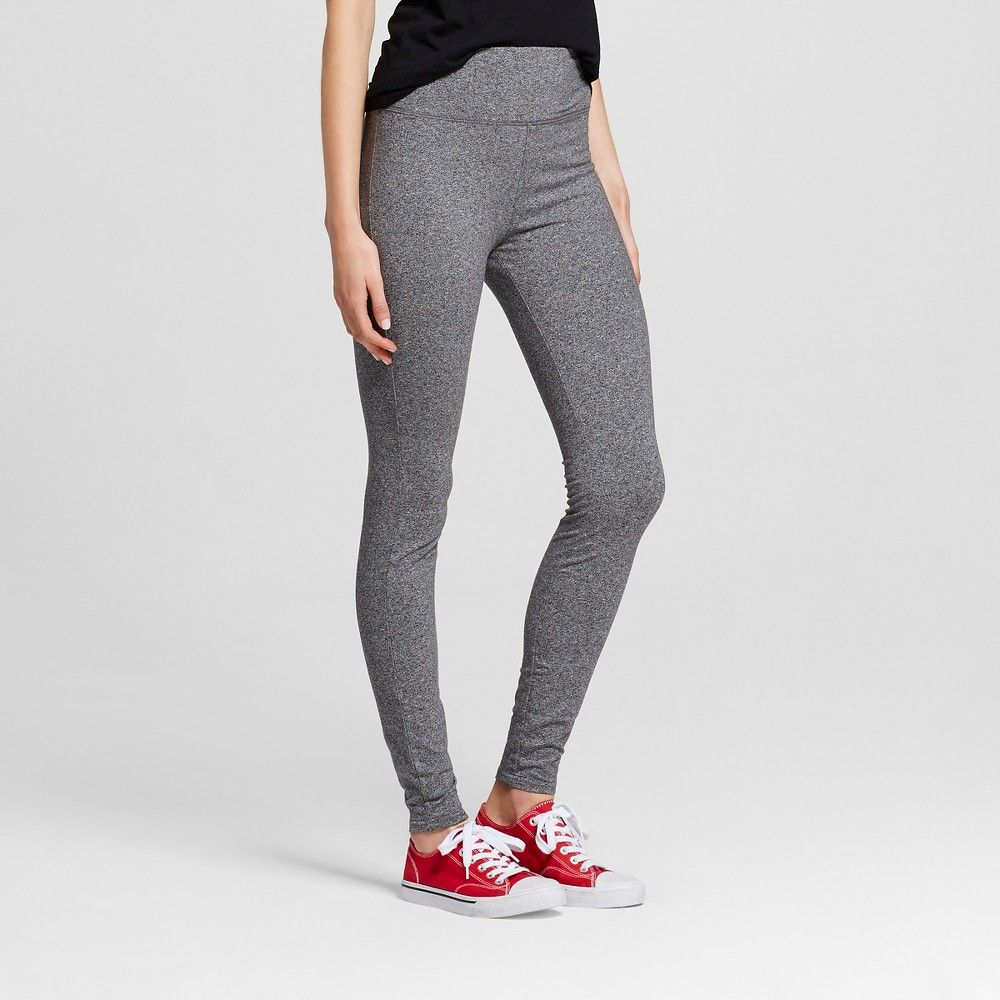 ae2c0beea4a Women s Yoga High Waist Pant Ebony XS- Mossimo Supply Co. (Juniors ...