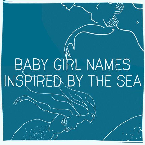Ocean Inspired Baby Girl Names | Baby Names | Indian baby girl names