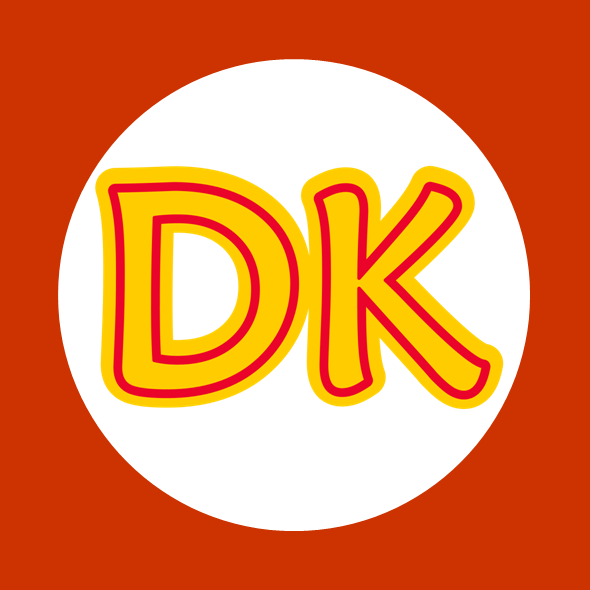 Donkey Kong Kart Flag By Rafaelmartins Donkey Kong Kong Flag