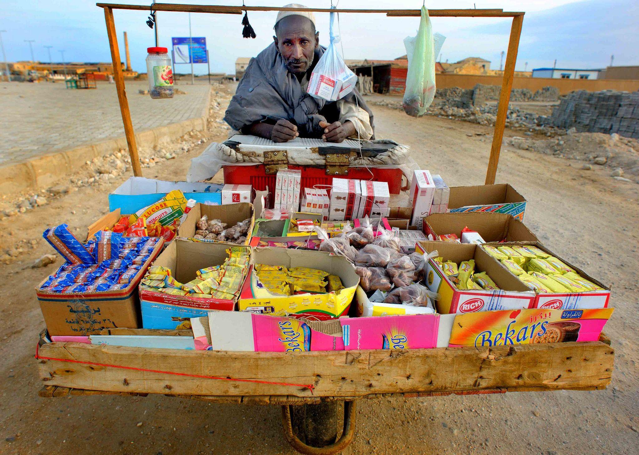 https://flic.kr/p/joAzfr   Street vendor, Suakin, Sudan   More on www.christophecerisier.com