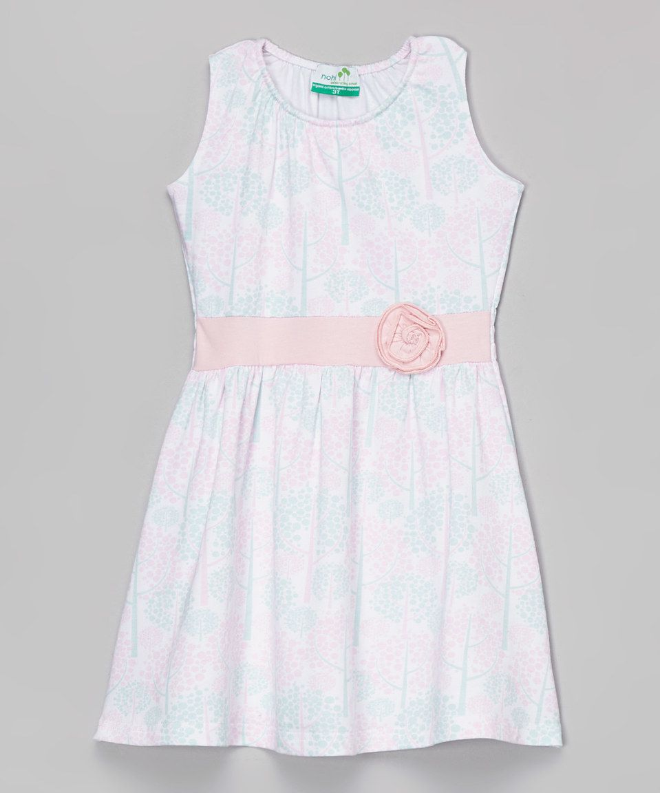 Look what I found on zulily Pink Spring Tree Organic Tank Dress