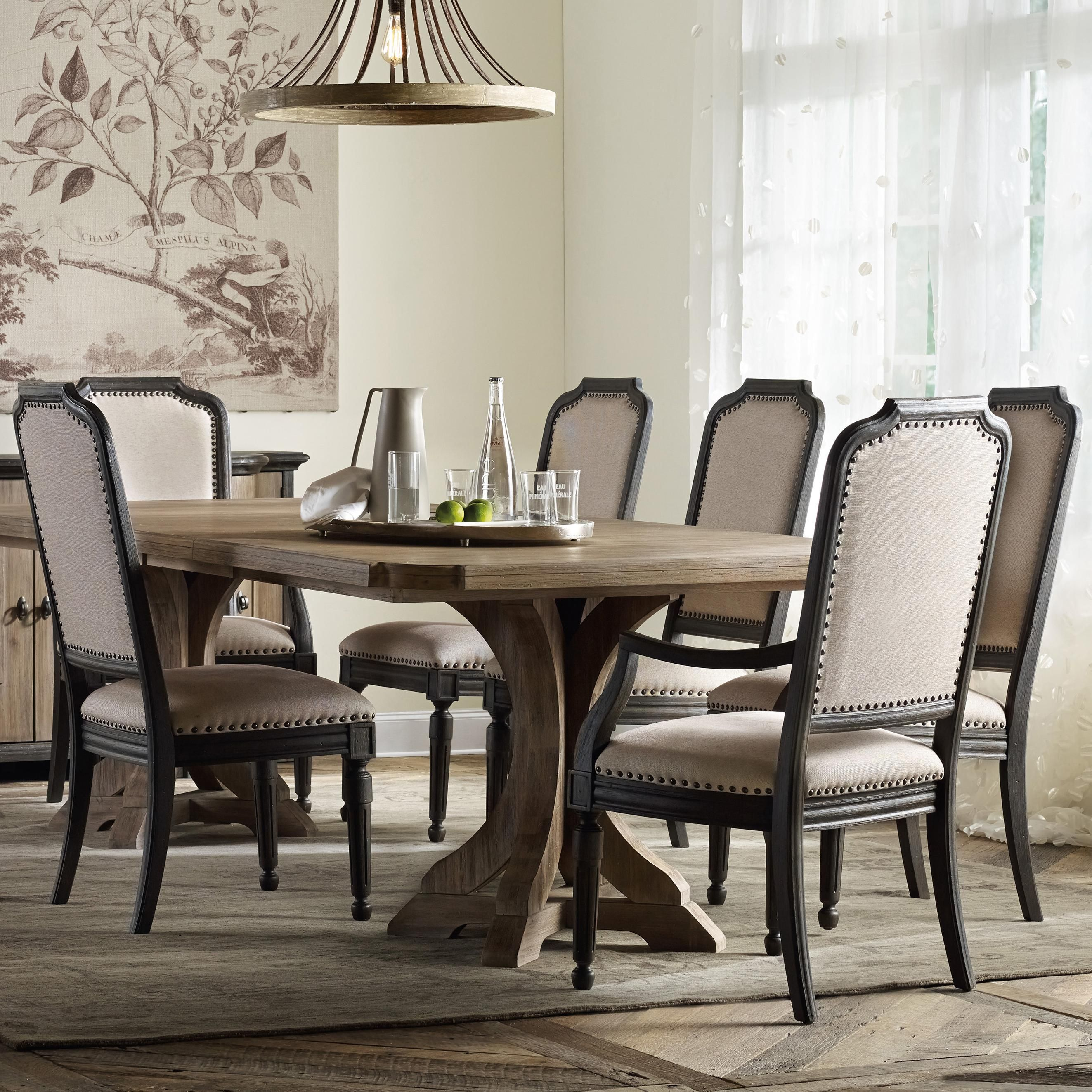 my new dining room set corsica rectangle pedestal dining table
