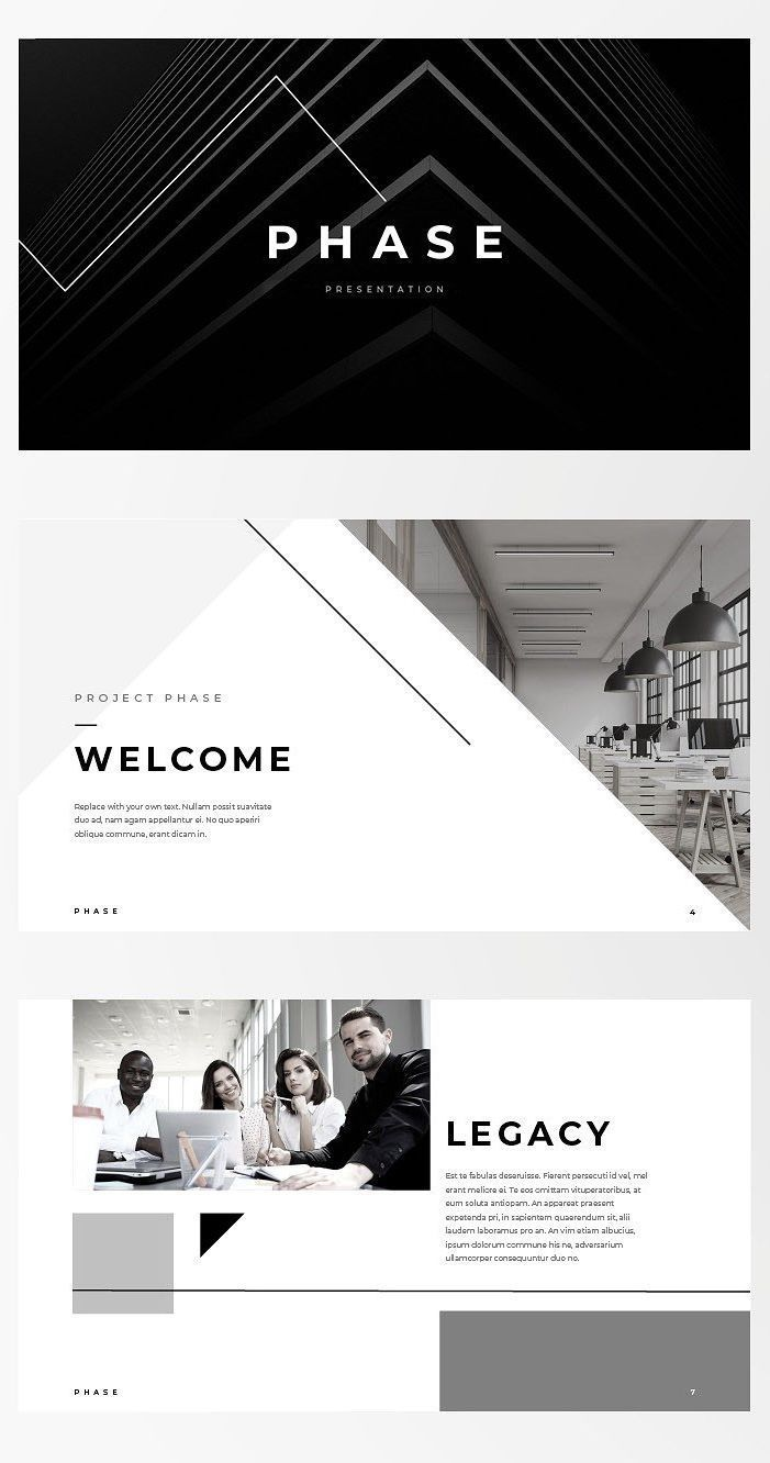 Keynote Template  Phase  For those looking for a professional presentation