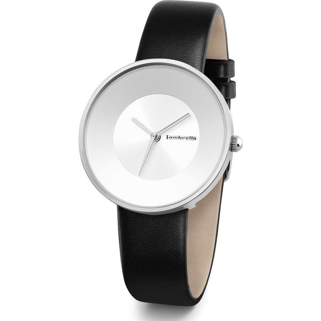 Lambretta Cielo Small Pure Watch   Silver/Black