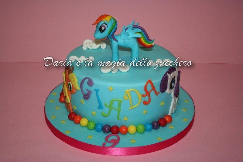 Torte Bambini ~ Torta little pony little pony cake children cakes torte bambini
