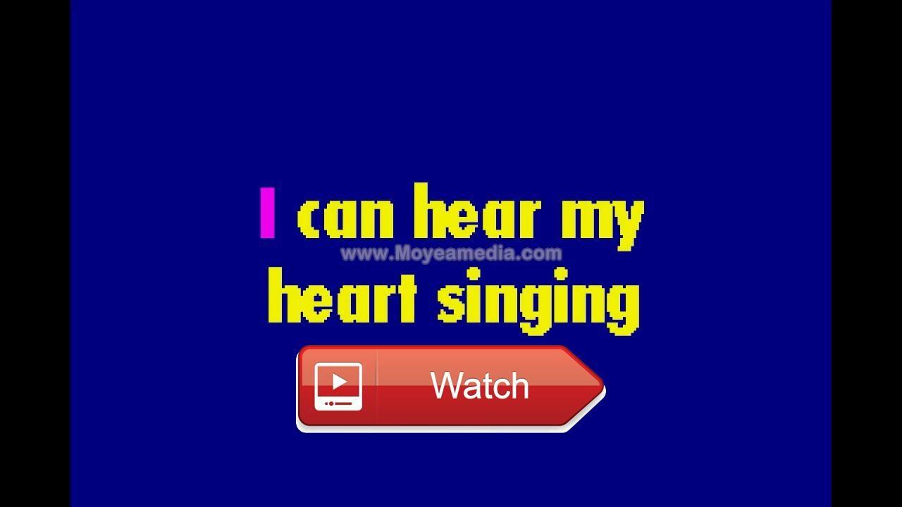 Elvis Presley Hawaiian Wedding Song LG HD Karaoke CS71Intro