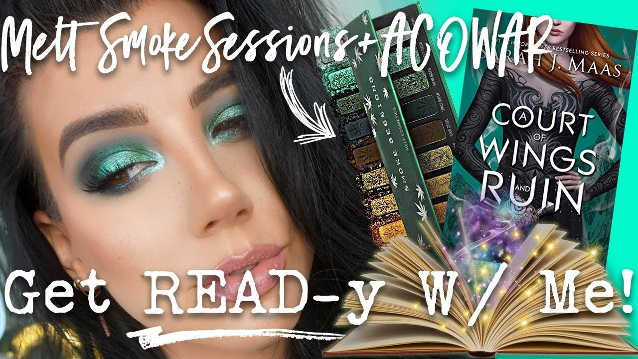 MELT SMOKE SESSIONS PALETTE + ACOWAR Get READy With Me