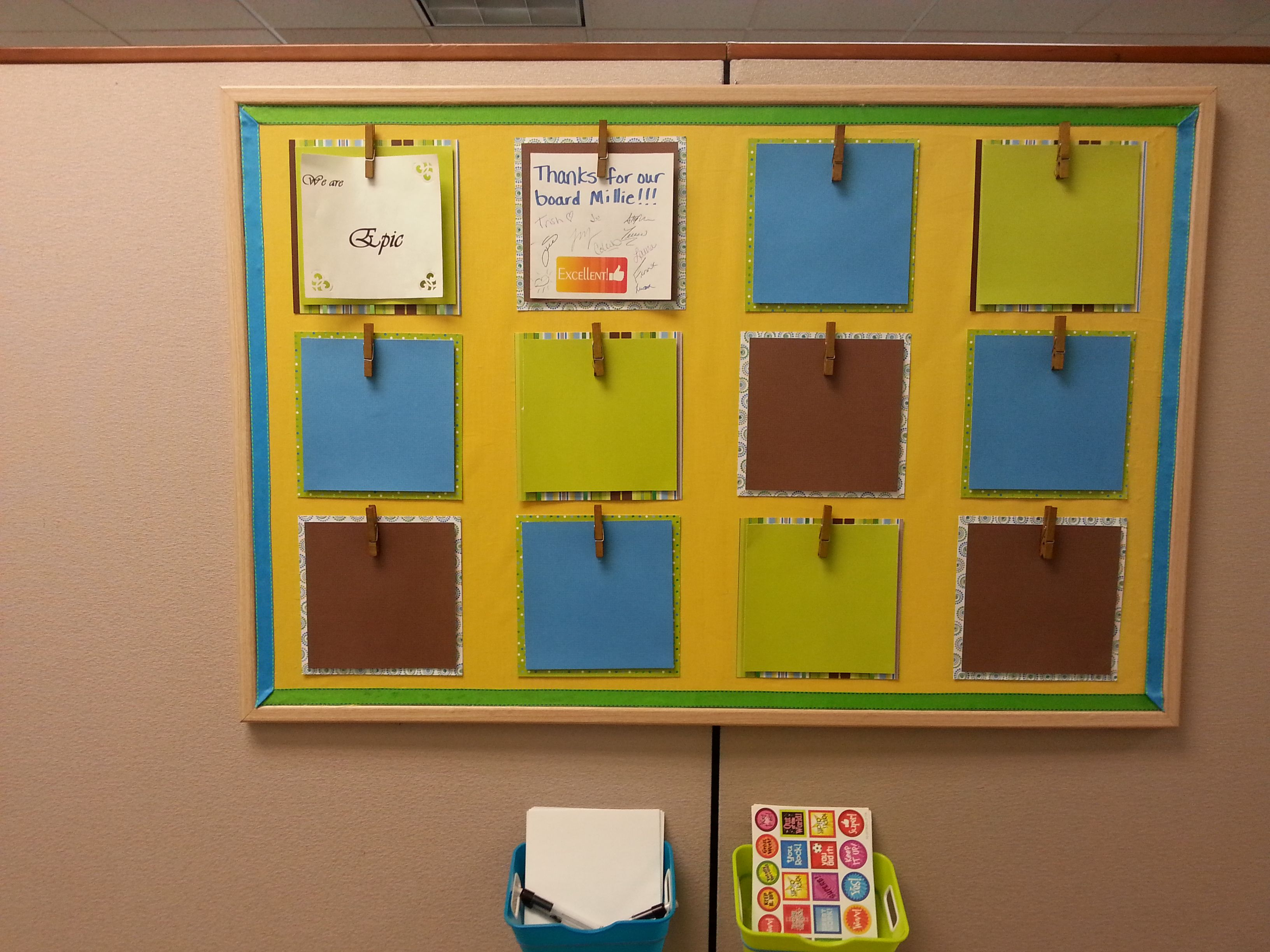 Kudos board for co-worker recognition. | Teambuilding | Pinterest ...